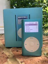 Apple iPod mini 2nd Generation Blue **9/10 MINT** Original Box & Accessories