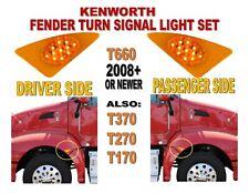 FENDER TURN SIGNAL SET FOR KENWORTH T660 (2008+) KW T170  T270  T370  T660