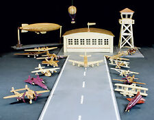 Wood plans for an airplane set, Patterns for everything shown. Aviation history