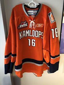 Authentic Reebok Bortnak Kamloops Blazers 56 WHL Jersey