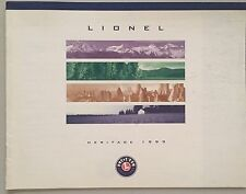 Lionel Electric Trains Catalog Heritage 1999