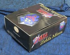 2008 Nintendo Legend of Zelda Ocarina of Time Mints Display Empty Candy Box Only