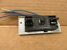 93-02 CAMARO FIREBIRD INTERIOR  POWER SEAT SWITCH 8 PIN BLACK PLATED FACTORY OEM