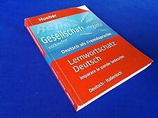 Lernwortschatz Deutsch. Imparare le parole tedesche von Diethard Lübke