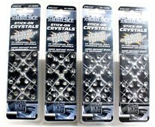 4 Pilot Auto Ice Stick On Crystals 25 Self Adhesive Per Pack Add Instant Bling