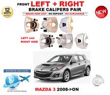 Para Mazda 3 2008-ON Pinzas De Freno Delantero Izquierdo Y Derecho Par 1.6 2.0 2.2