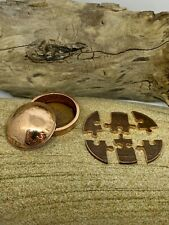 More details for handmade coin puzzle and coin pot very unique gift predecimal penny