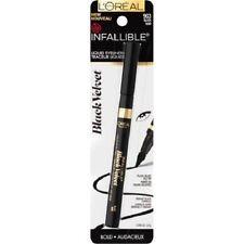 Loreal Infallible Black Velvet Liquid Eyeliner, 903 Black!