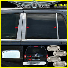 2003-2006 FORD Expedition Chrome Door Handle COVERS+Mirror+Pillar Post+Tailgates