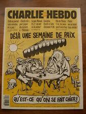 CHARLIE HEBDO N° 64  SEPTEMBRE 1993  RISS