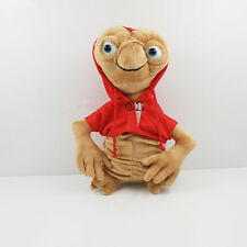 """new e.t. the extra-terrestrial10.5"""" film with red coat soft plush doll toy cute"""