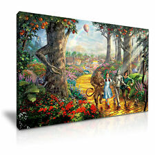 The Wizard of Oz Movie Canvas Musical Fantasy Wall Art Picture Print 76x50cm