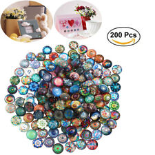 200pcs Wholesale Lot Many Color Glass Mosaic Tiles for Diy Craft Mosaic Making