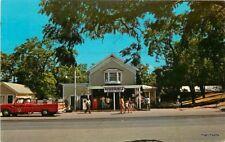 1950s Gas Station Sleeping Bear Glen Haven Michigan Truck Teich 11654