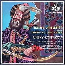 DECCA LXT 5311 ED 1 AUS PRS RIMSKI-KORSAKOV RUSSIAN EASTER FESTIVAL ANSERMET OSR
