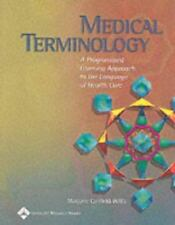 Medical Terminology: A Programmed Learning Approach to the Language of-ExLibrary