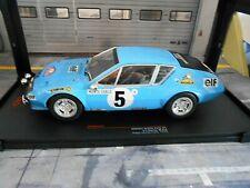 RENAULT Alpine A310 Rallye Monte Carlo 1975 #5 Therier Vial IXO 1:18