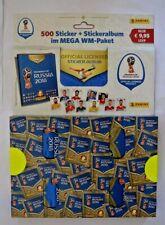 Panini FIFA WM 2018 Russie Mega Pack / Couverture souple Album vide 100 Sacs