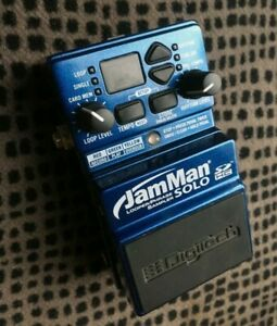 Digitech Compact Stereo Looping Pedal - with JamSync - model. JamMan Solo