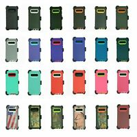 For Samsung Galaxy S10 Defender Case Cover w/Belt Clip Holster Fits OtterBox