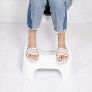 PP Material Squatty Step Stool Bathroom Potty Squat Toilet Footseat US Stock