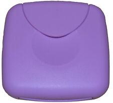 Tampon Box / Dose für Tampons / Binden /Slipeinlagen o.b. Tamponspender Flieder