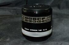 Canon Camera Lens Macro Extension Adapter Tube FD 50