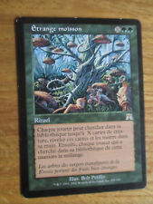 x1 Carte Magic MTG rare Etrange moisson VF (Carnage)