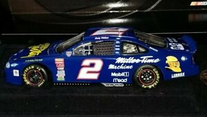 Nascar Action Elite Rusty Wallace 1998 Adventures Of 1:24 #2 Miller Time Diecast