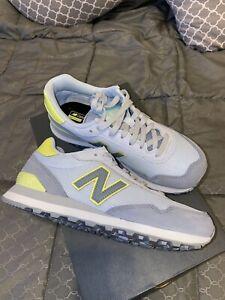 Size 8,5 - New Balance 515 Grey Lemon Yellow