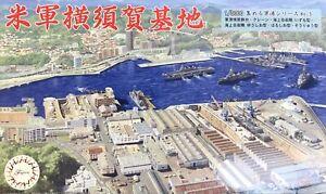 1:3000 Scale United States Fleet Activities Yokosuka Scene Model Kit No.05a #160