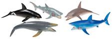 """5 Figuras de Juego """"Animales Marinos"""" Aprox. 10cm Set Océano Peces"""