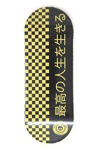 Skull Fingerboards Japan Gold Edition Wooden Fingerboard Graphic Deck (34mm)