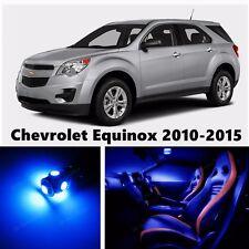 14pcs LED Blue Light Interior Package Kit for Chevrolet Equinox 2010-2015
