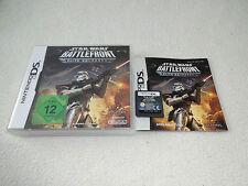 Star Wars Battlefront elite Squadron Nintendo DS juego con embalaje original y guía