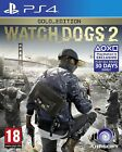 WATCH DOGS 2 - GOLD EDITION PS4 ITALIANO VIDEOGIOCO PLAY STATION 4 GIOCO NUOVO