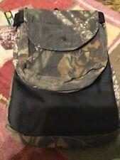 Mossy Oak Break-Up Camo Hunting Nylon Belt W/Game Pouch Shell Pockets