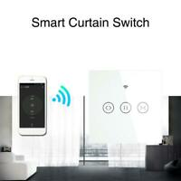 Electric Motorized Curtain Blind Roller Shutter WiFi Smart Curtain Switch Voice