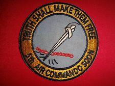Vietnam War Patch US 5th Air Commando Squadron TRUTH SHALL MAKE THEM FREE