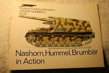 Nashorn Hummel & Brumbar in Action Squadron Signal Book 2005 Very Good