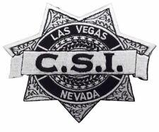 CSI Las Vegas Police Logo Embroidered Iron on Patch