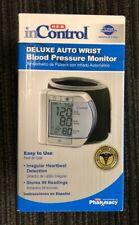 NEW inControl Deluxe Auto Wrist Blood Pressure Monitor #B1