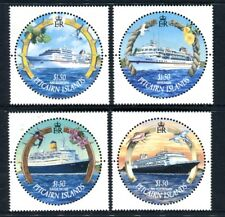 2001 Pitcairn Islands Cruise Ships - MUH Set of 4 Stamps