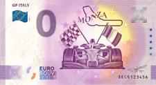 0€ ZERO EURO SOUVENIR BANCONOTA ITALIA 2020 - GP ITALY - MONZA ORIGINALE!!!