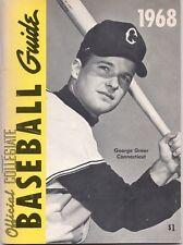 1968 NCAA Official Baseball Collegiate Guide