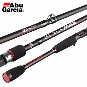 "Abu Garcia Black Maxx Baitcaster Graphite Rod - 8 to 17 lb - 2 Piece - 8'0"""