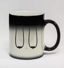#343-15oz White Coffee Mug Cup Funny Humor Saggy Granny Boobs Great Tits