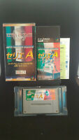 Super Formation Soccer 95: della Serie A-Super Famicom SFC-Japanese Version