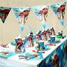 Disney MOANA Birthday PARTY Decorations SUPPLIES BALLOON Plates Napkin BANNER,