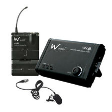 W Audio VOCO Presenter lavalier UHF Bavero sistema radio microfono wireless Sound Audio